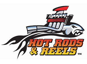 Hot Rods and Reels Logo